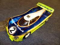 Porsche 911 GT1-98 #XrayX10-RZ1 (Xray) - Moravia RC Team