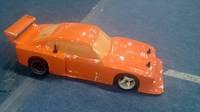 Ford Capri Zakspeed Turbo #Corally10SLCZ-08W (Corally) - RORO